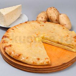 Осетинский пирог с сыром и картошкой фото