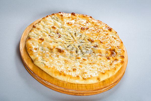 Осетинский пирог с семгой фото