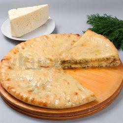 Осетинский пирог с сыром и укропом фото