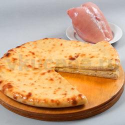 Осетинский пирог с курицей фото
