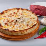 Осетинский пирог с рубленым мясом фото