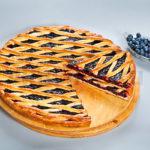 Осетинский пирог с черникой фото