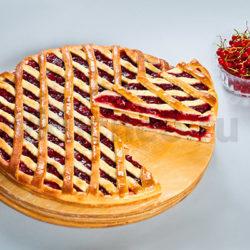 Осетинский пирог с красной смородиной фото