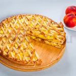 Осетинский пирог с персиками фото