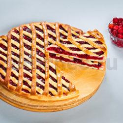 Осетинский пирог с клюквой фото