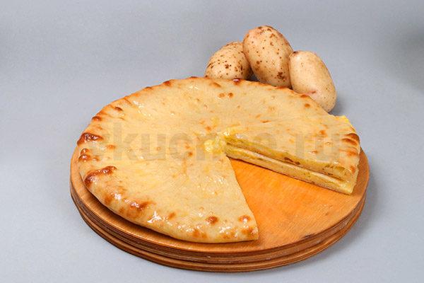 Осетинский пирог с картошкой фото
